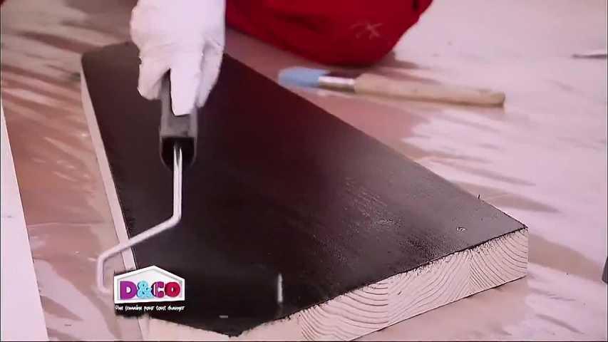 Technique De Peinture Du Bois Brut  MinutefacileCom