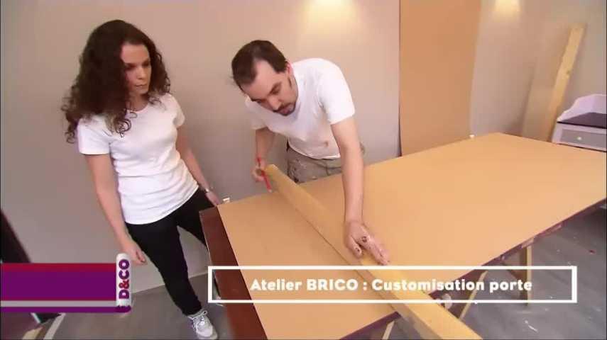 customiser une porte vitre attrayant porte de placard. Black Bedroom Furniture Sets. Home Design Ideas