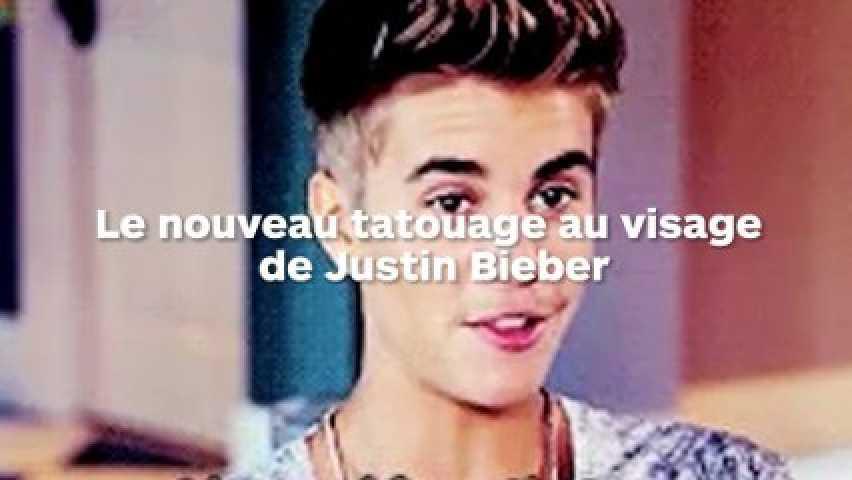 Justin Bieber A Un Nouveau Tatouage Sur Le Visage Et Les Fans Sont