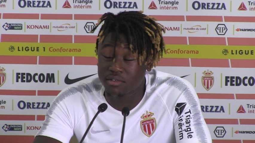 Maillot Extérieur AS Monaco Kévin N'DORAM