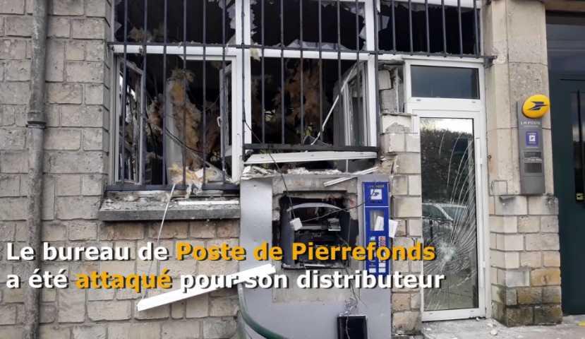Pierrefonds le bureau de poste soufflé dans braquage au gaz