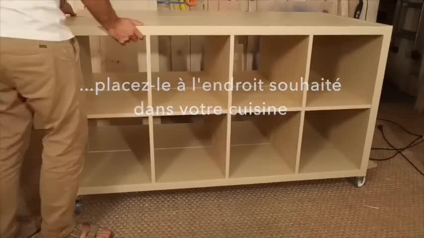 Diy  Fabriquer Un lot De Cuisine Avec Des Meubles Ikea  Video Sur