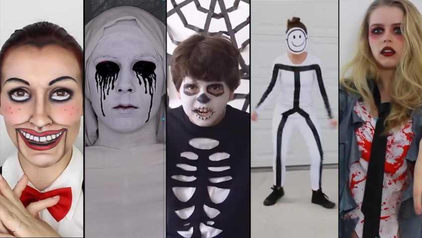 Pas de déguisement pour Halloween  Voici cinq idées faciles de dernière  minute  d65dc0301542