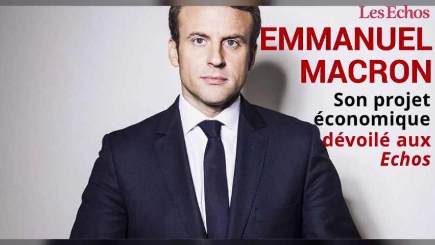 Emmanuel Macron Mon Projet Economique