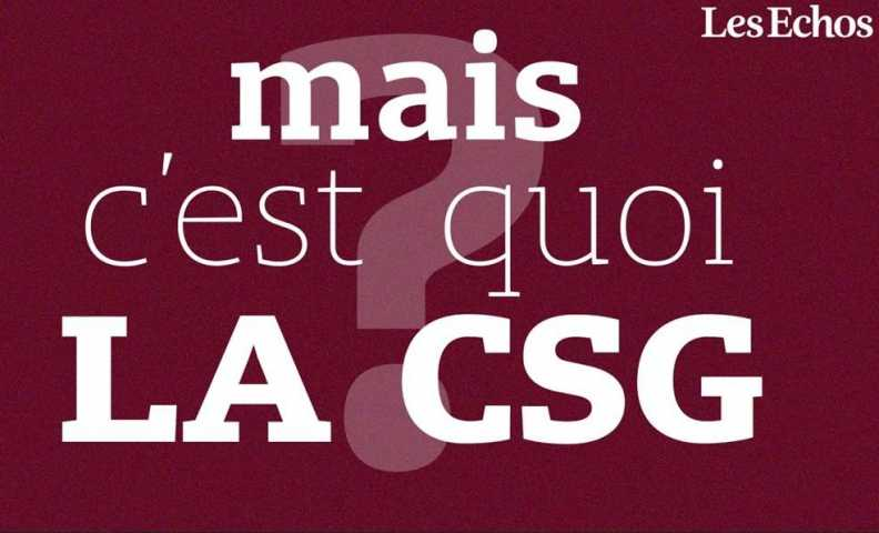 Impot La Hausse De Csg Sera Deductible Du Revenu Imposable