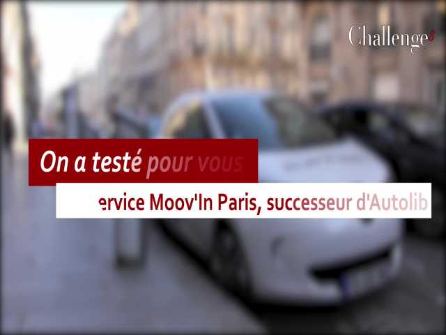 On A Teste Pour Vous Moovin Paris Successeur DAutolib