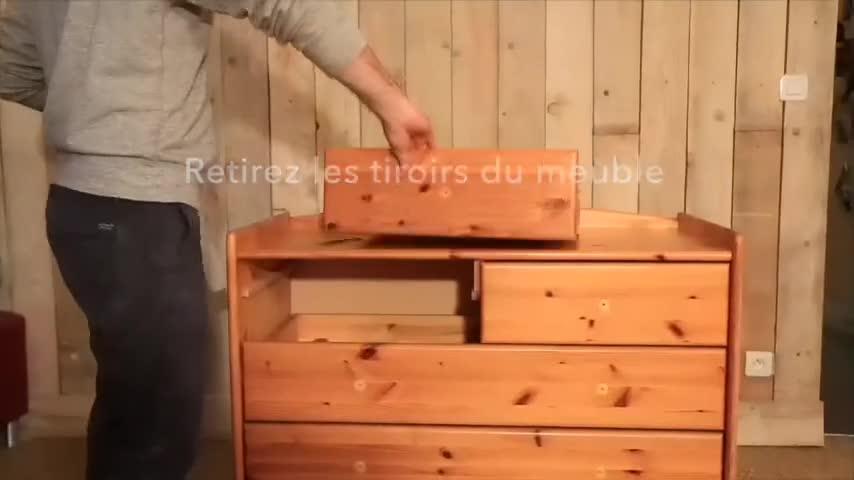 diy : 3 idées pour relooker une vieille commode - video sur deco.fr