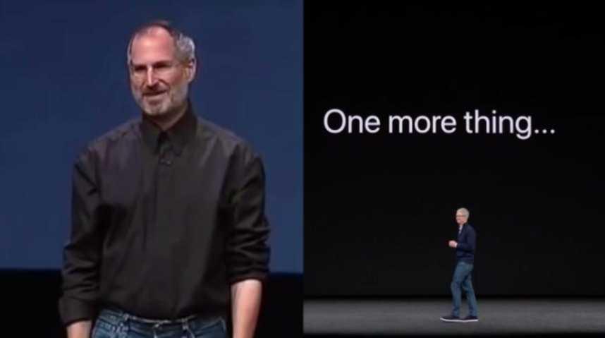 d81bd7609e4 Pour la sortie de l'iPhone X, le public a eu droit à cette blague  récurrente lancée par Steve Jobs | Le Huffington Post