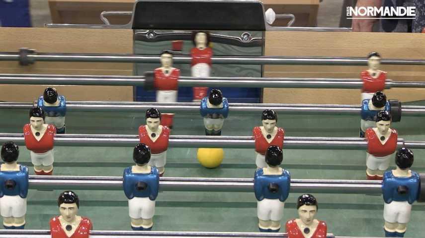 2e398820da7ecf Les vétérans font le show au championnat du monde de baby-foot de Rouen -  Actualités - Paris Normandie