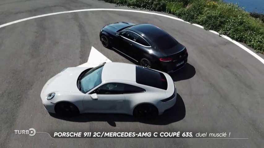 Porsche 911 Carrera S / Mercedes-AMG C 63 S Coupé - Extrait TURBO du 23/06/2019