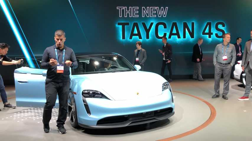 Salon de Los Angeles 2019 : présentation vidéo de la Porsche Taycan 4S
